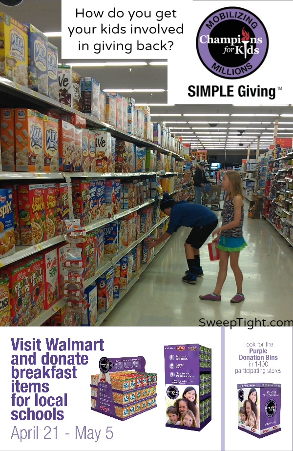 Give back to your community #sponsored