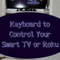 Logitech Smart Keyboard to Use with Roku or Smart TV
