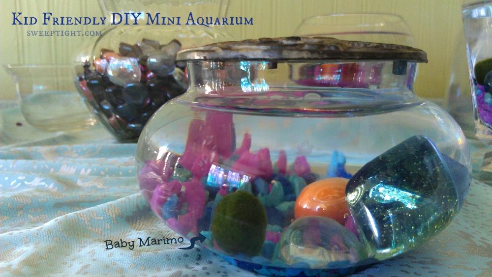 DIY Mini Aquarium for kids