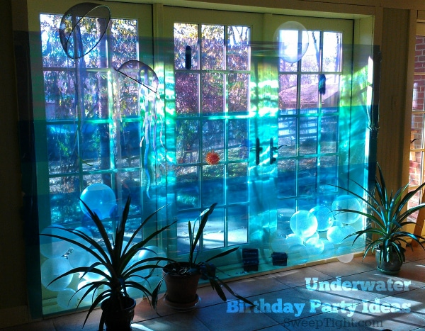 DIY Underwater Theme for kids birthday party themes