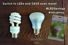 GE Energy Smart Light Bulbs are dimmable! #LEDSavings #cbias #shop