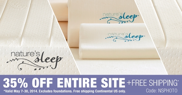 #NaturesSleep Coupon Code #sponsored