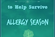 10 Tips to Help Survive Allergy Season #SneezingTime