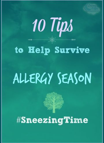 10 Tips to Help Survive Allergy Season
