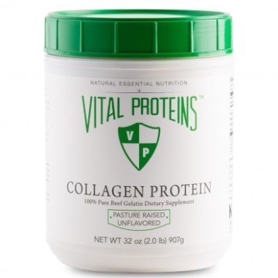 Collagen protein great for hair skin and nails
