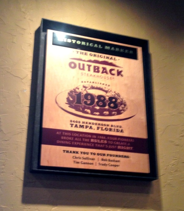 Trip to Outback Headquarters in Tampa #OutbackBestmates
