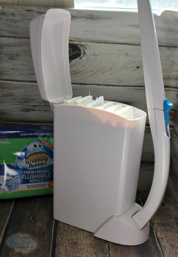 Quick and Easy Toilet Cleaning with Scrubbing Bubbles