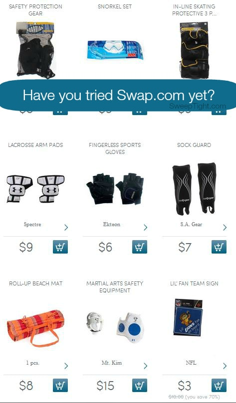 Save time and money Swap your kids' stuff at Swap.com