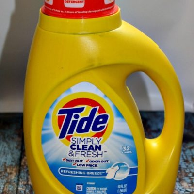 Revive Smelly Laundry with Tide Simply Clean & Fresh