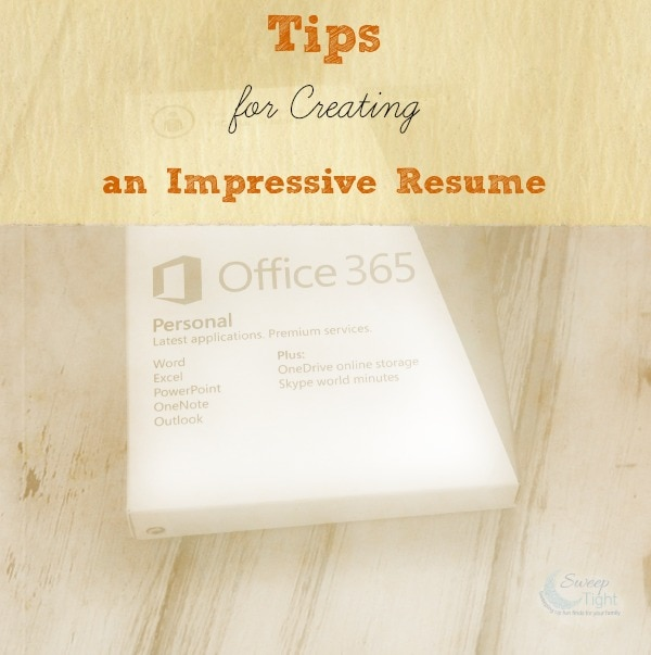 How to Create an Easy Resume using Office 365