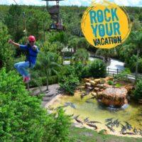 Zipline through Gatorland! #RockYourVacation