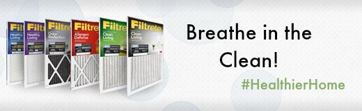 Filtrete Filters Breathe In the clean! #HealthierHome #sponsored