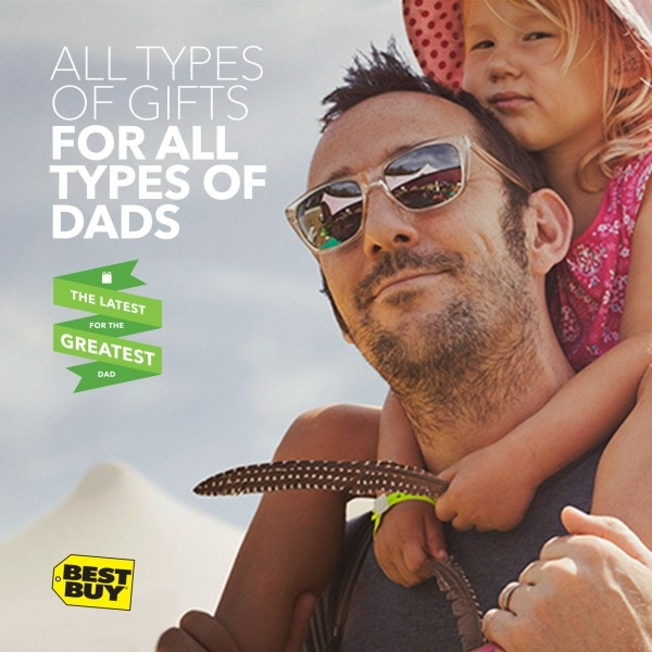 Great Gifts for a Memory Maker Dad at Best Buy #GreatestDad