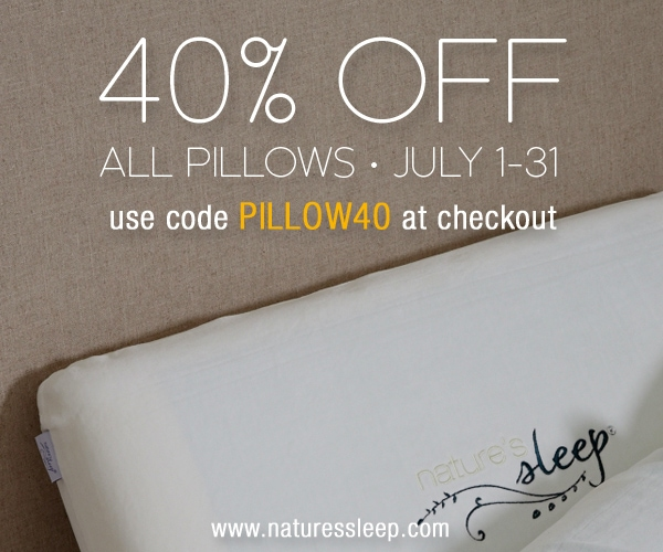 Nature's Sleep Coupon Code