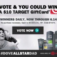 Dove® Men+Care® at Target Sweepstakes