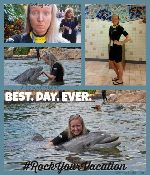 Discovery Cove Orlando #RockYourVacation
