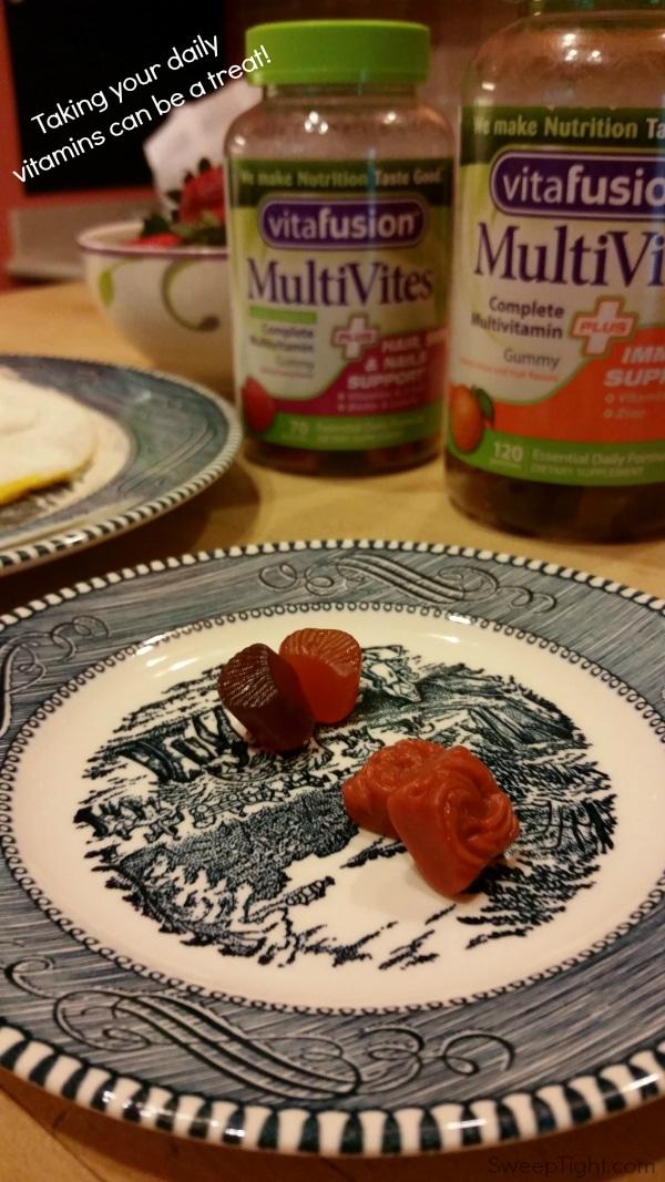 Add Yummy Gummy Vitamins to your Breakfast