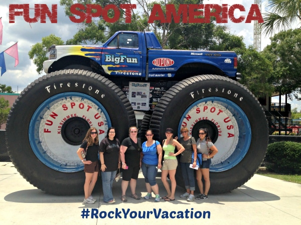 Fun Spot America #RockYourVaction in Kissimmee