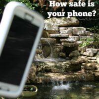 How safe is your phone? Waterproof? Shockproof? Dustproof? #OtterBoxPreserver
