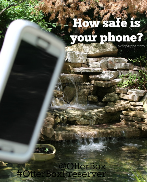 How safe is your phone? Waterproof? Shockproof? Dustproof? #OtterBoxPreserver