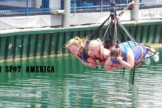 Riding the TALLEST SKYCOASTER IN THE WORLD with two mom bloggers #RockYourVacation