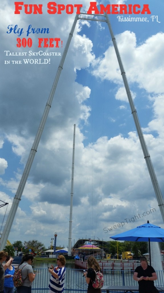 Tallest SkyCoaster in the World in Kissimmee, Florida #RockYourVacation