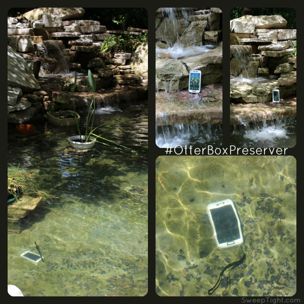 Worry free waterproof and shockproof case #OtterBoxPreserver