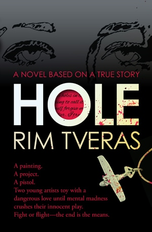 The new cover of HOLE #HOLEtheBook