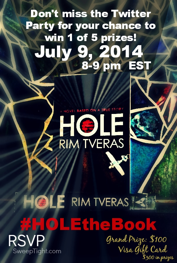 Don't Miss the #HOLEtheBook Twitter Party