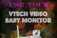 Other Ways to Use the VTech Video Baby Monitor