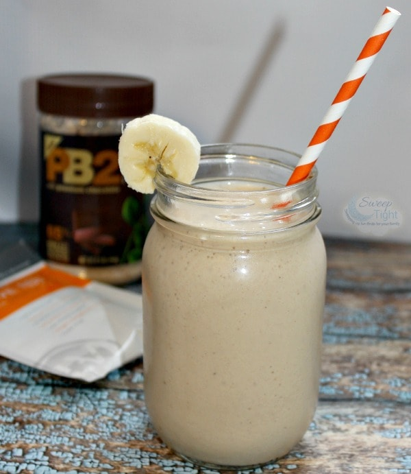 Energizing Peanut Butter Banana Breakfast Shake Recipe