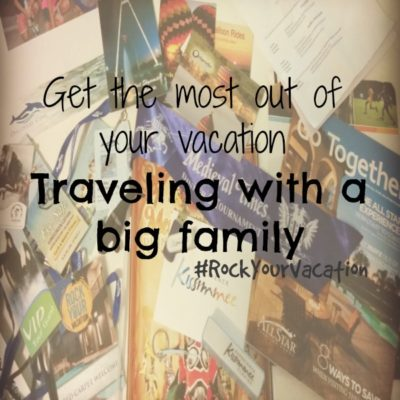 Traveling with Your Big Family