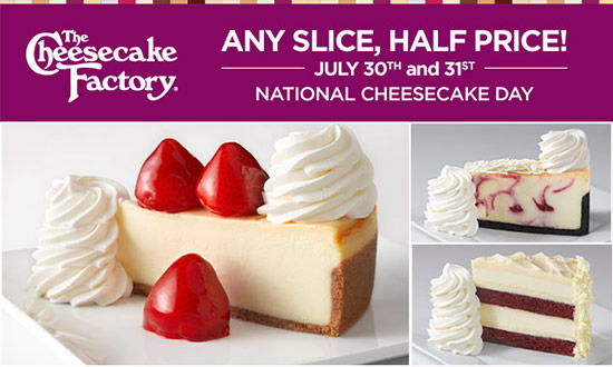 The Cheesecake Factory #NationalCheesecakeDay #SayCheesecakeContest