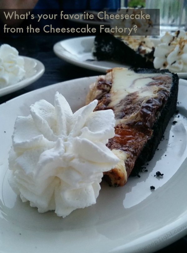 What is your Favorite Cheesecake from the Cheesecake Factory? Celebrate #NationalCheesecakeDay July 30th and 31st!