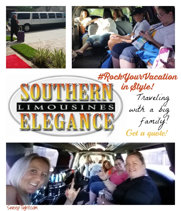 Big families can save and #RockYourVacation with a limo