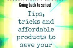 Back to school tips for parents that are students too