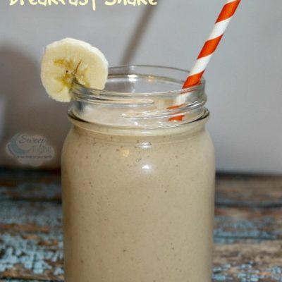 Peanut Butter Banana Breakfast Shake Recipe