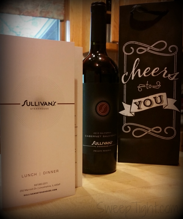 Wine from Sullivan's Steakhouse in Lincolnshire #SullysLincolnshire