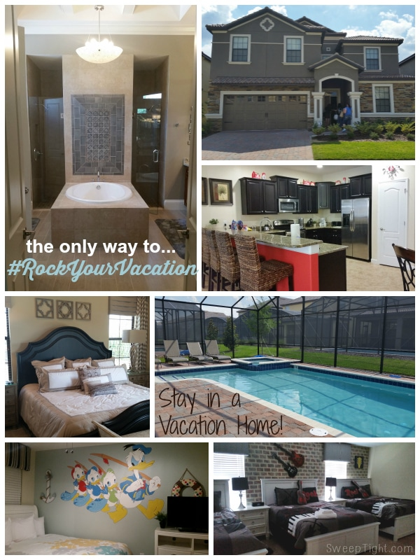 Traveling with a big group or family? #RockYourVacation in a Vacation Home