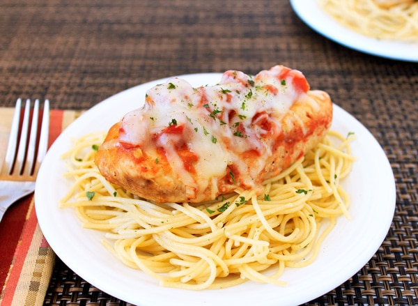 Slow Cooker Chicken Parmesan Recipe | Sweep Tight Blog