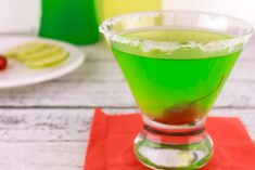 Limoncello Midori Sour A Sweet Mixed Drink Recipe All Year 'Round