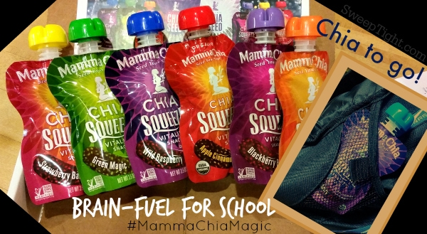 Mamma Chia is awesome for a school snack #MammaChiaMagic