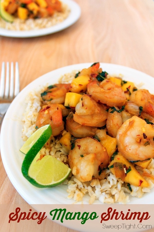 Spicy Mango Shrimp Recipe – Easy Seafood Dinner