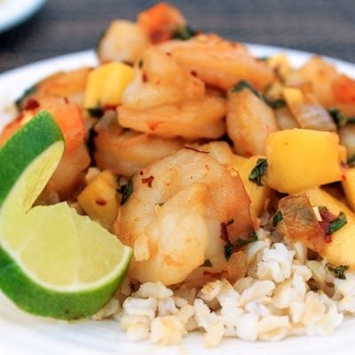 Spicy Mango Shrimp Recipe | Sweep Tight Blog