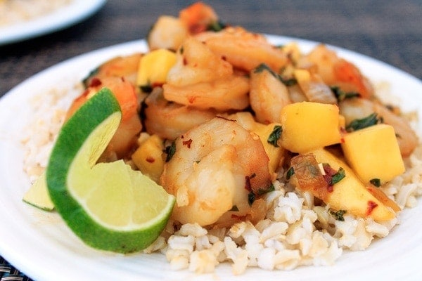 Spicy Mango Shrimp Recipe