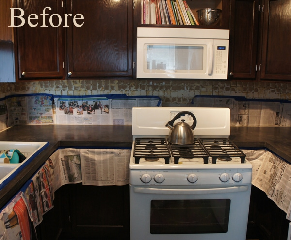 Affordable Countertop Refinishing with Encore Countertop Kit
