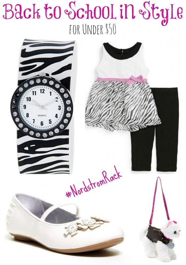 Affordable Fashion for Back to School #NordstromRack