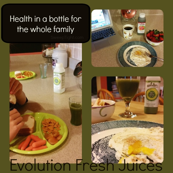 Evolution Fresh Juice - Health in a bottle for the whole family -sponsored #MC