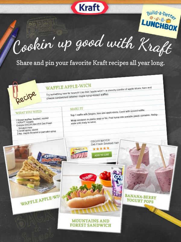 #Cookingupgood with Kraft