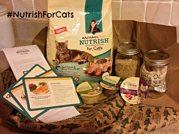 Rachael Ray makes awesome cat food! #NutrishforCats #sponsored #MCC